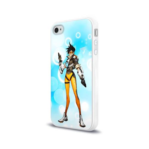 Чехол для Apple iPhone 4/4S силиконовый глянцевый  Фото 03, Overwatch 4