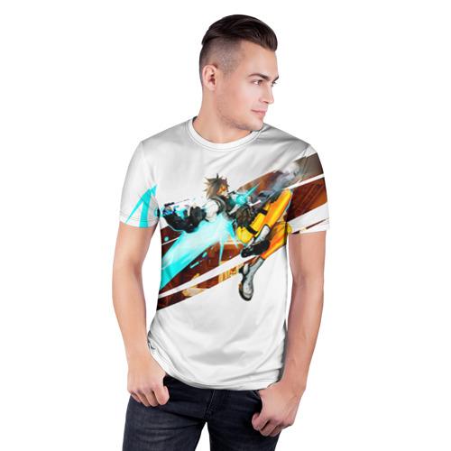 Мужская футболка 3D спортивная  Фото 03, Overwatch 5