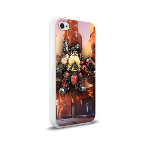 Чехол для Apple iPhone 4/4S силиконовый глянцевый  Фото 02, Overwatch 6