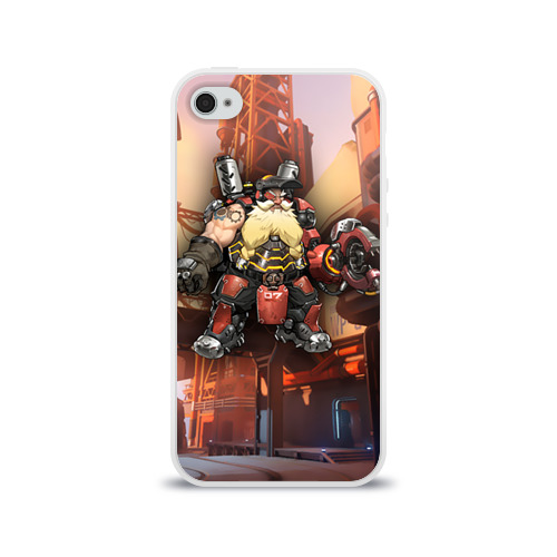 Чехол для Apple iPhone 4/4S силиконовый глянцевый  Фото 01, Overwatch 6