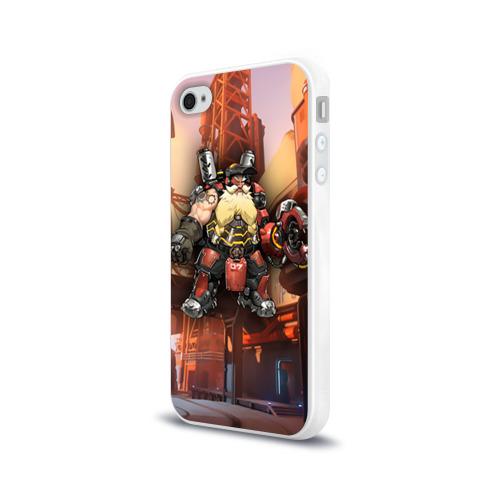 Чехол для Apple iPhone 4/4S силиконовый глянцевый  Фото 03, Overwatch 6