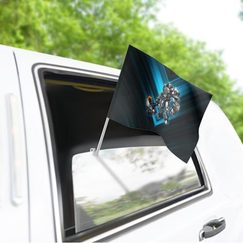 Флаг для автомобиля Overwatch 7 Фото 01