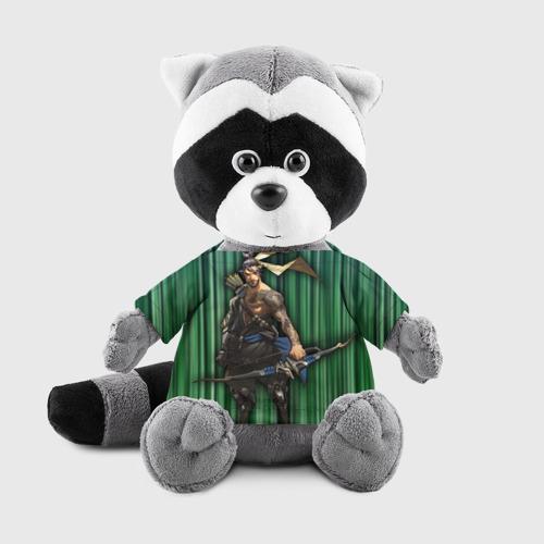 Енотик в футболке 3D Overwatch 12 Фото 01