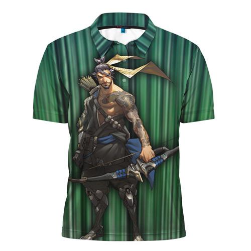 Мужская рубашка поло 3D  Фото 01, Overwatch 12
