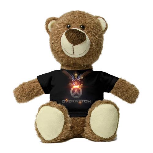 Миша в футболке 3D Overwatch 14 Фото 01
