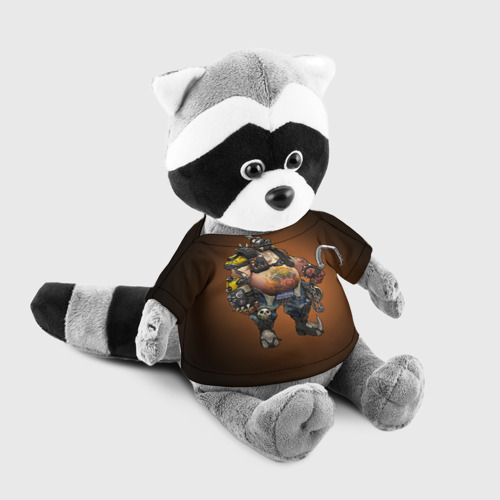 Енотик в футболке 3D Overwatch 16 Фото 01