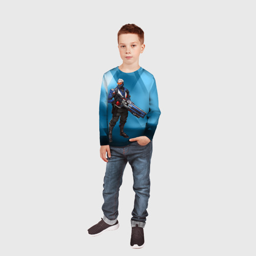 Детский лонгслив 3D Overwatch 27 Фото 01