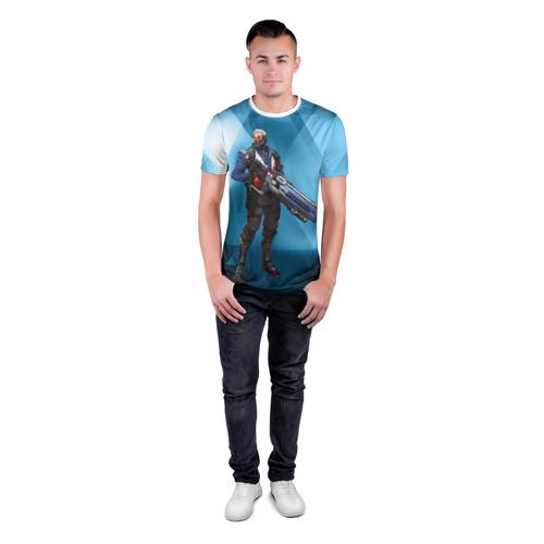 Мужская футболка 3D спортивная  Фото 04, Overwatch 27