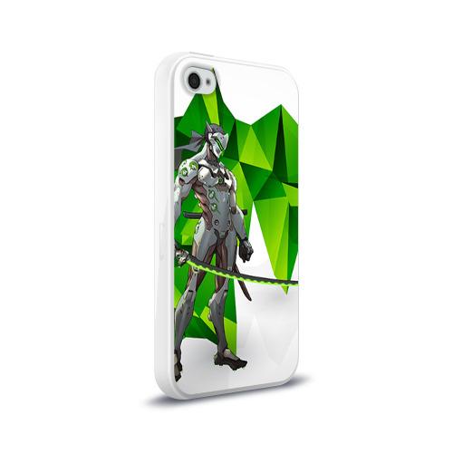 Чехол для Apple iPhone 4/4S силиконовый глянцевый  Фото 02, Overwatch 31