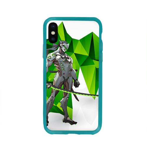 Чехол для Apple iPhone X силиконовый глянцевый Overwatch 31 Фото 01
