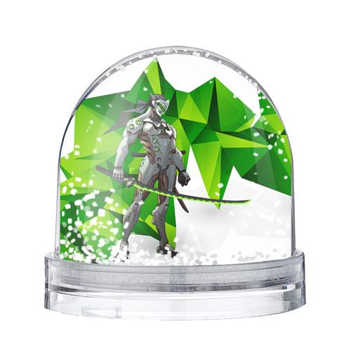 Водяной шар со снегом Overwatch 31