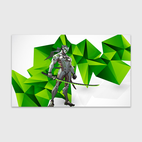 Бумага для упаковки 3D Overwatch 31 Фото 01