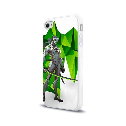 Чехол для Apple iPhone 4/4S силиконовый глянцевый  Фото 03, Overwatch 31