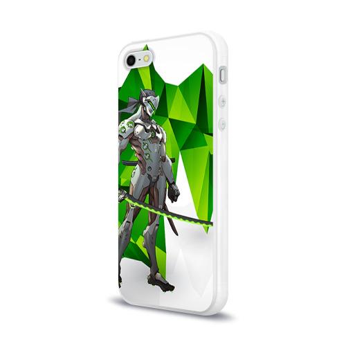 Чехол для Apple iPhone 5/5S силиконовый глянцевый Overwatch 31 Фото 01