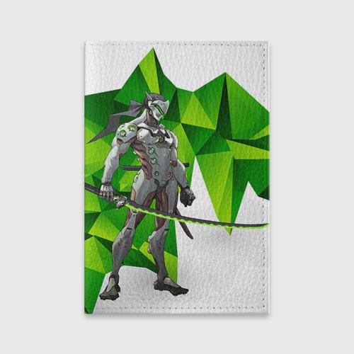 Обложка для паспорта матовая кожа Overwatch 31 Фото 01