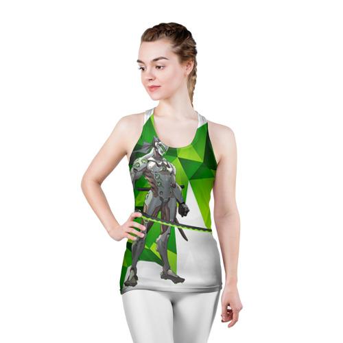 Женская майка 3D спортивная Overwatch 31 Фото 01