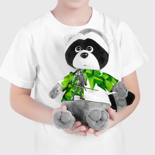 Енотик в футболке 3D Overwatch 31 Фото 01