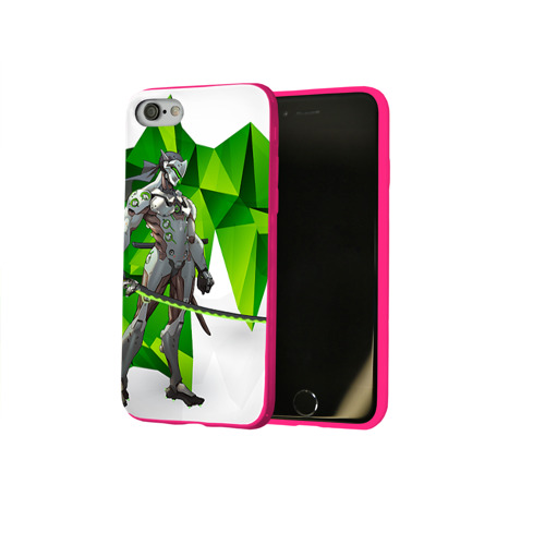 Чехол для Apple iPhone 8 силиконовый глянцевый Overwatch 31 Фото 01