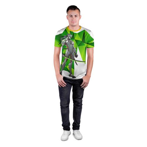 Мужская футболка 3D спортивная Overwatch 31 Фото 01