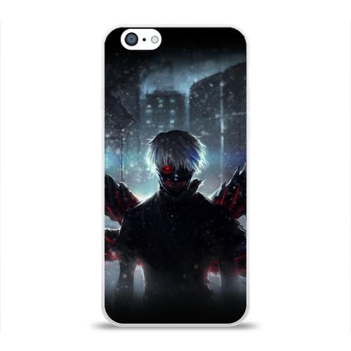 Чехол для Apple iPhone 6 силиконовый глянцевый  Фото 01, Tokyo Ghoul
