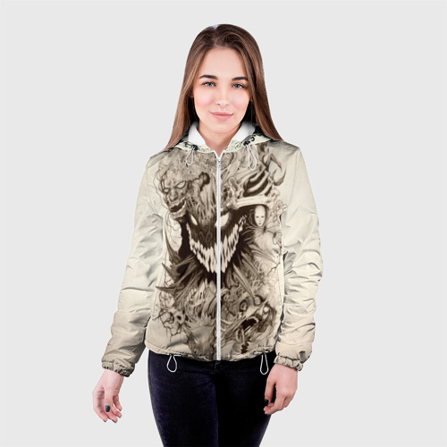 Женская куртка 3D  Фото 03, Демон