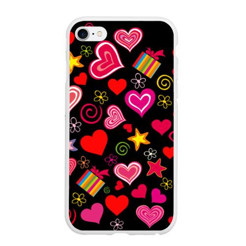 Чехол для iPhone 6Plus/6S Plus матовый Любовь Фото 01