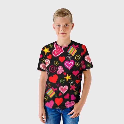Детская футболка 3D Любовь