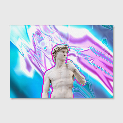 Холст прямоугольный  Фото 02, Статуя Давида