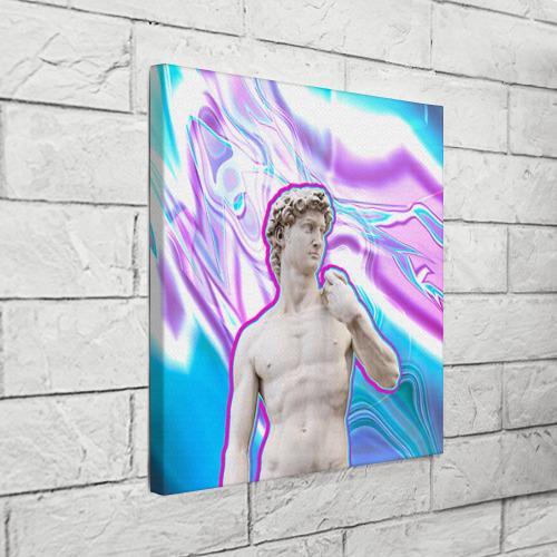 Холст квадратный  Фото 03, Статуя Давида