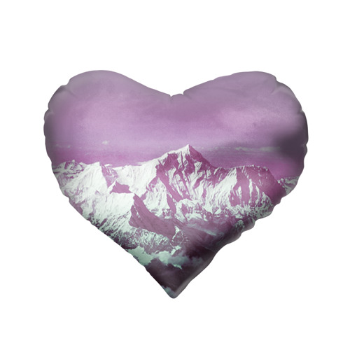Подушка 3D сердце  Фото 02, Горы