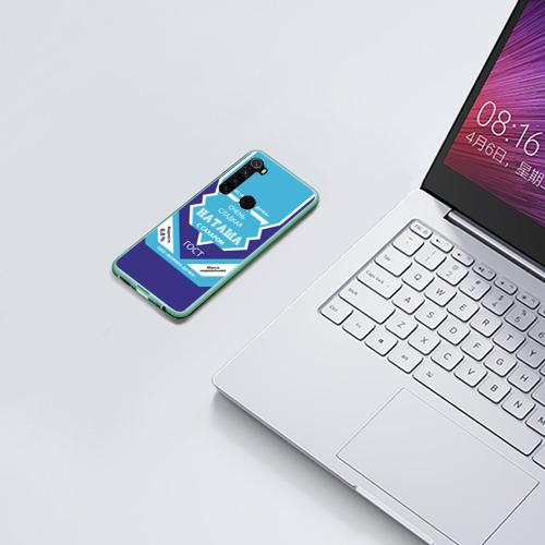 Чехол для Xiaomi Redmi Note 8 Сладкая Наташа Фото 01