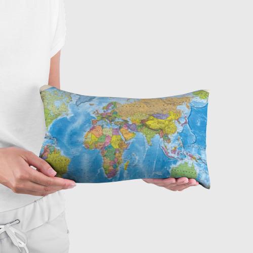 Подушка 3D антистресс Карта Фото 01