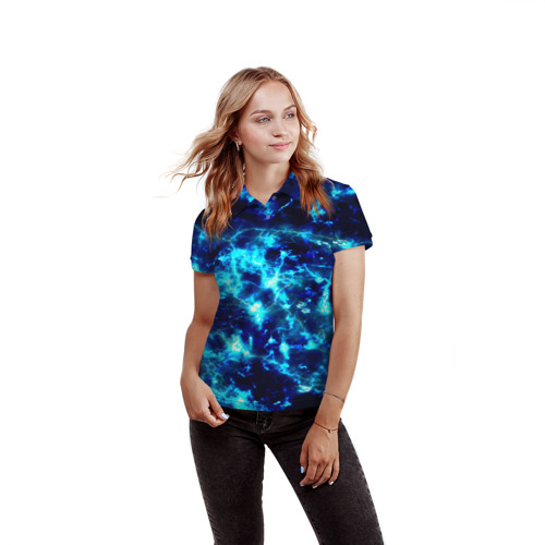 Женская рубашка поло 3D Electrica Фото 01