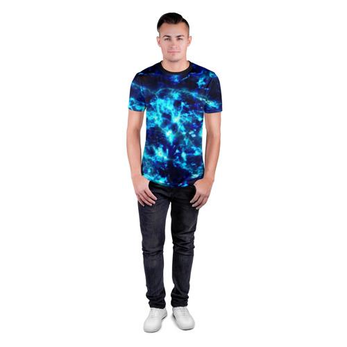 Мужская футболка 3D спортивная Electrica Фото 01
