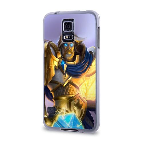 Чехол для Samsung Galaxy S5 силиконовый  Фото 03, Варкрафт 42