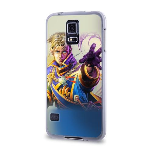 Чехол для Samsung Galaxy S5 силиконовый  Фото 03, Варкрафт 44