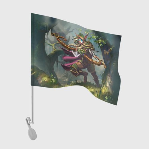 Флаг для автомобиля Варкрафт 45 Фото 01