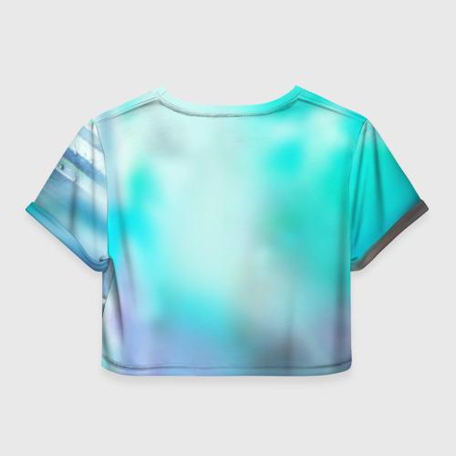 Женская футболка 3D укороченная  Фото 02, Варкрафт 46