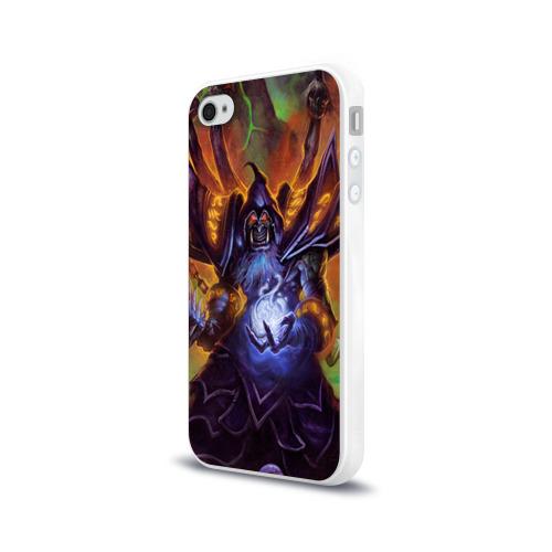 Чехол для Apple iPhone 4/4S силиконовый глянцевый  Фото 03, Варкрафт 47