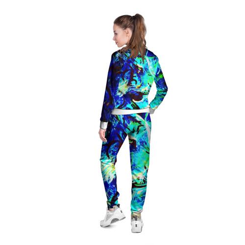 Женская олимпийка 3D  Фото 04, Blue tiger
