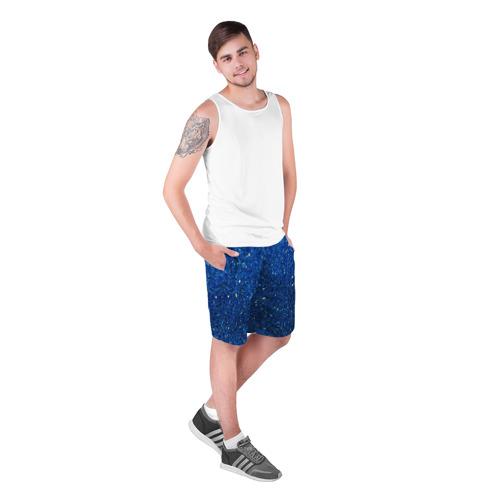 Мужские шорты 3D  Фото 03, Blue mirror