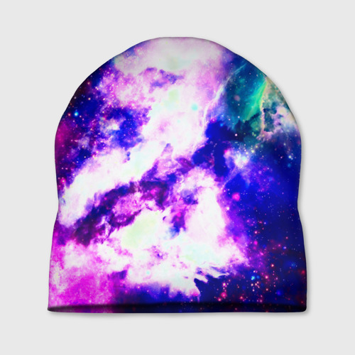 Шапка 3D  Фото 01, Галактика