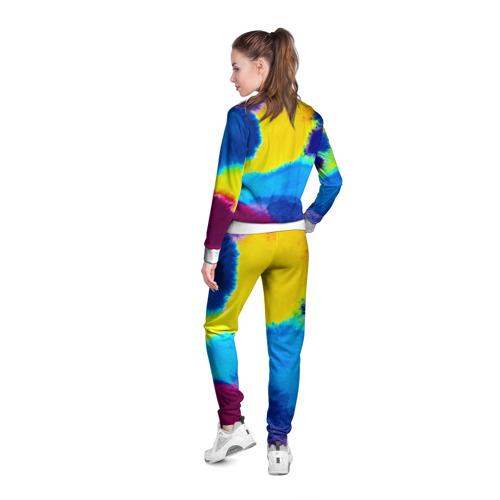 Женская олимпийка 3D  Фото 04, акварель
