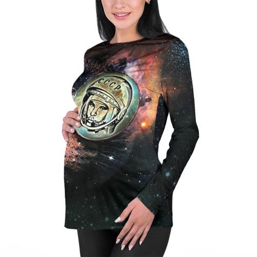 Женский лонгслив 3D для беременных  Фото 01, Гагарин 3