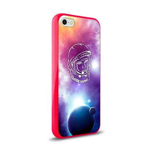 Чехол для Apple iPhone 5/5S силиконовый глянцевый  Фото 02, Гагарин 4