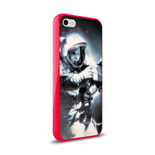 Чехол для Apple iPhone 5/5S силиконовый глянцевый  Фото 02, Гагарин 5