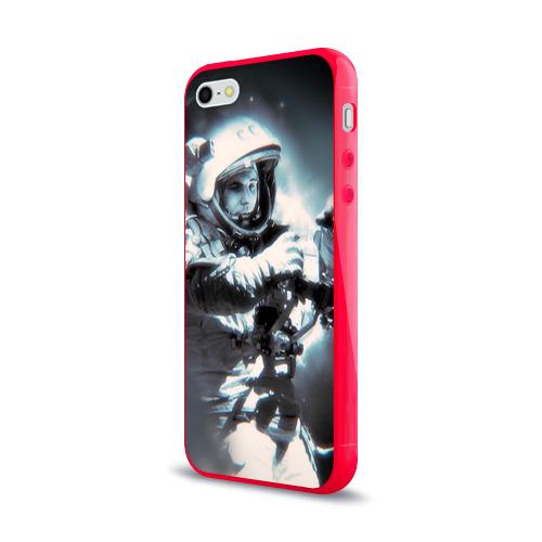 Чехол для Apple iPhone 5/5S силиконовый глянцевый  Фото 03, Гагарин 5