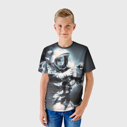 Детская футболка 3D Гагарин 5