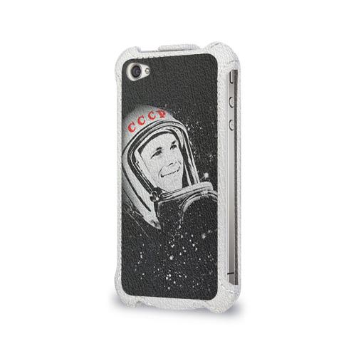 Чехол для Apple iPhone 4/4S flip  Фото 03, Гагарин 6