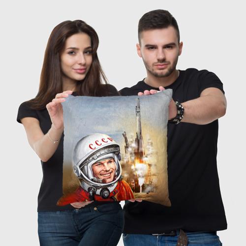 Подушка 3D Гагарин 8 Фото 01